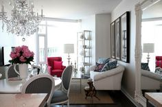 Small apartment decor idea