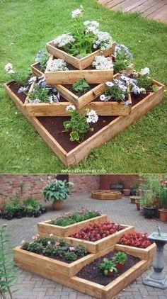 When the weather gets warm, a smattering of flowers and plants gives your outdoor space a springtime feel. With their pops of color and texture, flower beds easily shake the winter dullness off of … #outdoordecor #diygarden