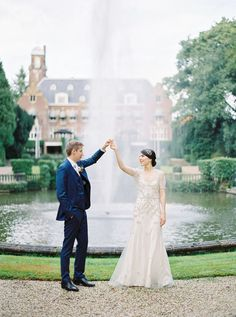 Dutch castle wedding: http://www.stylemepretty.com/2017/03/17/a-dutch-castle-wedding-so-pretty-we-thought-it-was-a-styled-shoot/ Photography: Nastia Vesna - http://www.nastiavesna.com/