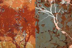 Urban Tree-Green Mural - Matthew Lew| Murals Your Way