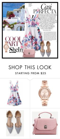 """""""Shein 2*"""" by zina1002 ❤ liked on Polyvore featuring Michael Kors and Whiteley"""