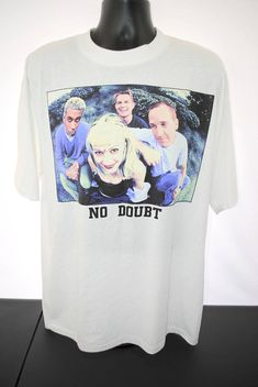 1997 No Doubt Vintage Live From The Tragic Kingdom Concert New Bands, Cool Bands, Vintage Band Tees, Fall 2018, Fashion Photo, Street Style, Graphics, Live, Concert
