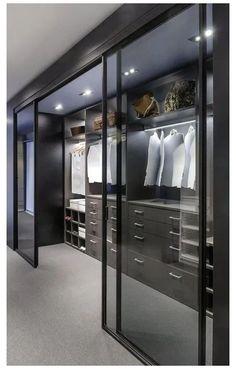 Wardrobe Room, Wardrobe Design Bedroom, Closet Bedroom, Modern Wardrobe, Modern Closet, Modern Bedroom, Luxury Bedroom Design, Walk In Wardrobe, Modern Wall