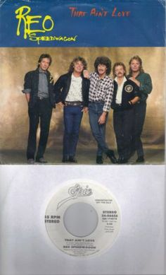 REO-SPEEDWAGON-That-Ain-039-t-Love-promo-45-with-PicSleeve-GARY-RICHRATH Gary Richrath, Reo Speedwagon, Hard Rock, Rock And Roll, Singer, Love, Amor, Rock Roll, Singers