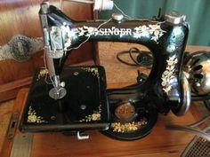 Antique Singer sewing machine model 24