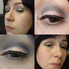 Ich habe heute gleich mal die #looseyeshadow 02 #stonecold und 03 #gleaminginthewintersun von #essence aus der #winterglow #limitededition getestet. Als Base habe ich jeweils einen #kiko #longlastingstick in apricot und grau aufgetragen. Das Licht ist war leider 💩 #essencecosmetics #essence_cosmetics #kikomilano #kikocosmetics #eyesoftheday #eotd #eyes #eyemakeup #amu #augenmakeup #eyelook #makeupoftheday #face #faceoftheday #fotd #selfie #selfies #me #itsme