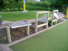 music instrument areas for outdoor spaces Kids Backyard Playground, Natural Playground, Playground Design, Playground Ideas, Toddler Playground, Outdoor Play Spaces, Outdoor Fun, Do It Yourself Garten, Music Garden