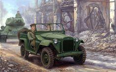 Автомобиль ГаЗ-67Б   ⇆ 1´  pl