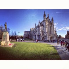 Winchester Cathedral, Hampshire.