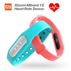 New Original Xiaomi Mi Band 1S Heart Rate Monitor Smart Wristband Xiaomi Miband Bracelet 1 S IP67 Bluetooth For Android IOS♦️ SMS - F A S H I O N 💢👉🏿 http://www.sms.hr/products/new-original-xiaomi-mi-band-1s-heart-rate-monitor-smart-wristband-xiaomi-miband-bracelet-1-s-ip67-bluetooth-for-android-ios/ US $14.99