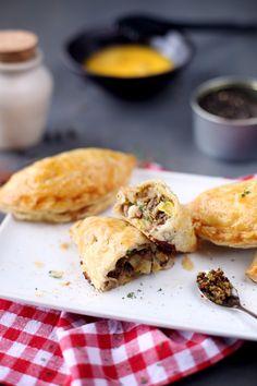 chausson-boeuf-poireau-mozzarella - empanadas