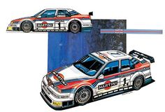 Alfa Romeo 155 DTM (Martini Racing Team - 1995/1996) by Paolo Dalessio