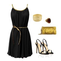 """""""lil black dress"""" by cassie-goode on Polyvore"""