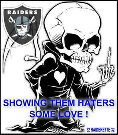 Raider Nation Fuck Haters