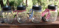 Make Mason Jar Oil Candles