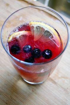Red Zinger Lemonade ~ sounds delicious!