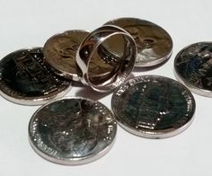Make a ring from a coin!