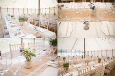Marquee wedding, aldeburgh suffolk. natural wedding decor