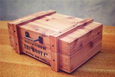Handmade cedar supply box. - CLICK TO ENLARGE