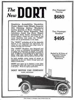 1915 Dort Advertisement