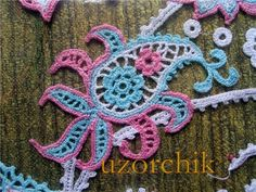 y爱尔兰花边2 - guxing - Álbuns da web do Picasa Crochet Paisley, Freeform Crochet, Paisley Pattern, Irish Crochet, Crochet Motif, Crochet Flowers, Knit Crochet, Crochet Patterns, Crochet Chart