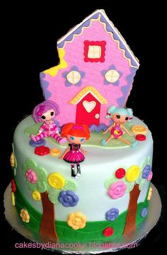 Lalaloopsy cake - Click image to find more Kids Pinterest pins