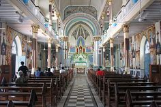 Mount Mary Church, Bandra,Mumbai - India : The Basilica of Our Lady of the Mount, more commonly known as Mount Mary Church, is a Roman Catholic Basilica located in Bandra, Mumbai. The Basilica is one of the most visited 'religious places of worship' in the cit
