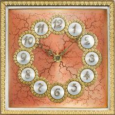 hodinky ze zlata od firmy Fabergé