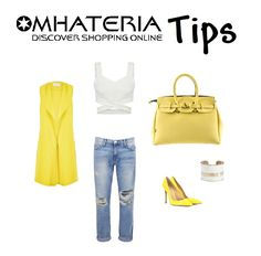 Starts the week with positivity ! Choose a #yellow mood :) Sales off -70% , Discover #shoppingonline - Yellow #Handbags Mhateria 15,60 Euro  #ootd #style #outfit