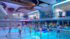 Rollerskate only on #RoyalCaribbean #cruise # vacation