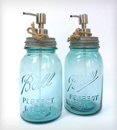 Ball Blue Mason Jar Dispenser - Quart by Roots in Rust on Scoutmob Shoppe