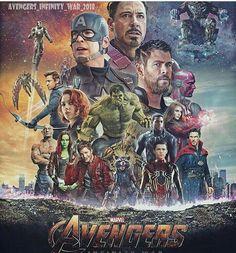 Avenger infinity war fan poster
