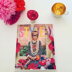 Have you got your copy of @style_piccoli ?  We can't wait to get ours and see the fabulous & fun editorial based on the style of Iris Apfel . @scimparello:Tomorrow at the newsstand Style Piccoli...dress like Iris Apfel - styling by Petra Barkhof - photo by Marco Tassinari - grooming Antonella Gaglio - styling assistant Ilaria Remezzano - dress by Armani Junior @petrabarkhof @marco_tassinari @antonella_gaglio @bettiuska @btalentscout @armani @elenalelianastoian76 @iris.apfel thanks to…