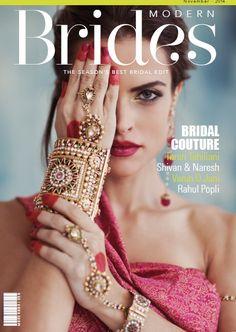 Cover for Modern Brides magazine on Behance