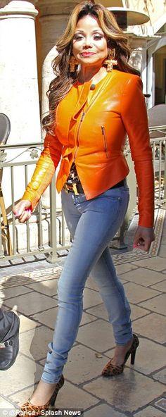 Head-to-toe body con. La Toya Jackson's new reality show will air on Oprah Winfrey's network OWN on Sunday.