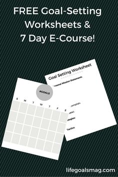 Goal setting worksheets for teachers goal setting worksheet goal goal setting freebie worksheets and a 7 day e course for guiding you with the resources to achieve your huge life goals ibookread PDF