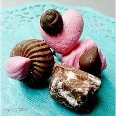 glittery clay chocolate ring #handmade #ring #clayart