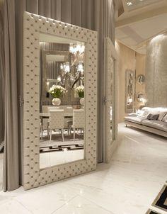 Love this white mirror