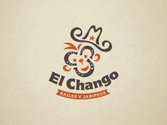 ElChango logo design rodeo dance fun horseshoe western monkey logo Branding, Logo Inspiration, Logo Design, Rodeo, Logos, Monkey, Identity, Packaging, Fun