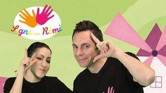 12 chansons traditionnelles enfantines, interprétées par Rémi - chanteur pour enfants - et traduites en Langue des Signes Française par Aliza, comédienne sourde.