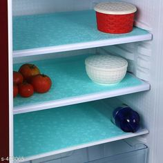 Checkout this latest Fridge Mats_500 Product Name: *LooMantha Refrigerator Drawer Mats (Pack Of 3) * Fabric : PVC Dimension: ( L X W ) - 17 in x 12  in Description: It Has 3 Pieces Of Refrigerator Drawer Mats Work: 3D Printed Country of Origin: India Easy Returns Available In Case Of Any Issue   Catalog Rating: ★4.1 (384)  Catalog Name: ☄️PVC Refrigerator Drawer Mats Combo Vol 4 CatalogID_49375 C129-SC1637 Code: 711-453065-861