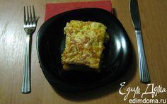 Тесто для лазаньи.  Лазанья с мясом и грибами.    Кулинарные рецепты от «Едим дома!»