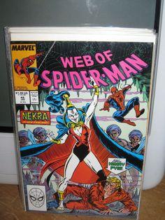 WEB OF SPIDER-MAN #46 AMAZING SPIDER-MAN MARVEL COMICS