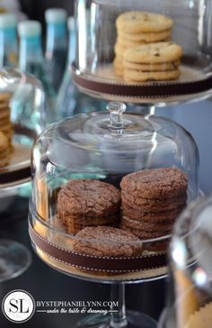 Coffee Bar Ideas...cake stand as Decore element?