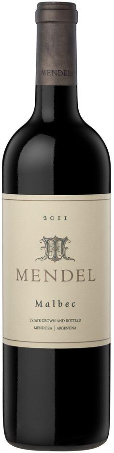 """""""Mendel"""" Malbec 2013 - Bodega Mendel, Luján de Cuyo, Mendoza------------Terroir; Mayor Drummond--------Crianza: 12 meses en barricas de roble francés.  1/3 nuevas, 1/3 de un  uso y 1/3 de segundo uso."""