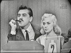 What's My Line? - Ernie Kovacs & Edie Adams; Tony Randall [panel] (Sep 9, 1956) - YouTube