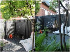 Når hegnet skal skiftes, skal det være a la 'Haverummet's luftige hegn, så vinden kan passere