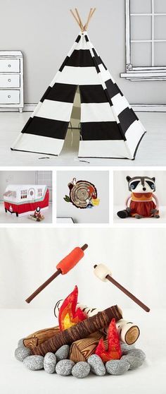 {camping gifts} *Love how this blog offers Want, Need, LEARN gift guides. Too cool.