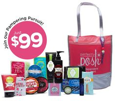 Want to join a fun company, that you can pamper others and yourself, while making money? A ground floor opportunity where ,every time you turn the corner, or try to attend an event, there isn't another consultant? $99 to join my Pampering Pursuit! This company is going places and I'm so excited to be with Posh. I would love to have you on my team while we Posh away:) Message me for more info or if your ready just go to http://www.perfectlyposh.us/JUSTPOSHED/
