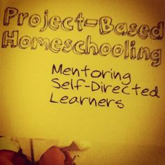 I loved the book Project Based Homeschooling I'm working on more ways to implement into our school life.